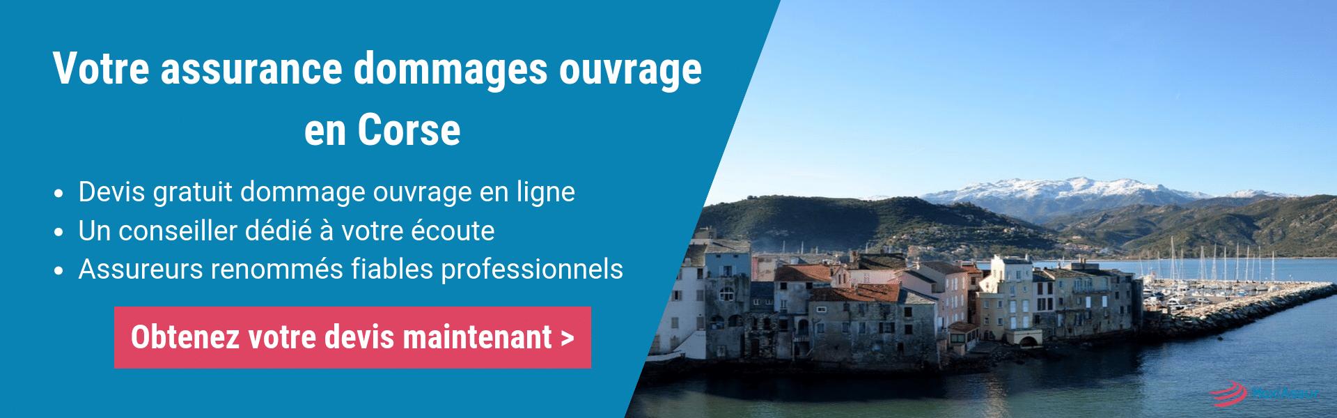 Assurance dommages ouvrage en Corse
