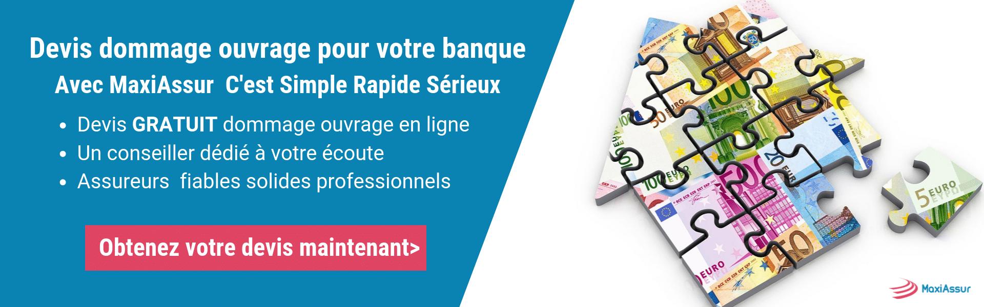 Assurance Dommages Ouvrage Prêt Banque