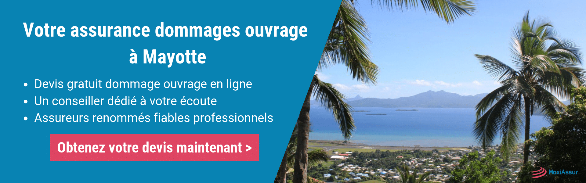 Assurance dommages ouvrage Mayotte