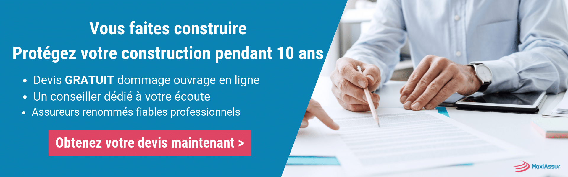 100 000 contrats d'assurance construction non couverts