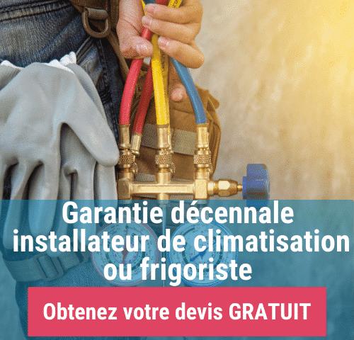 Garantie décennale installateur de climatisation ou frigoriste