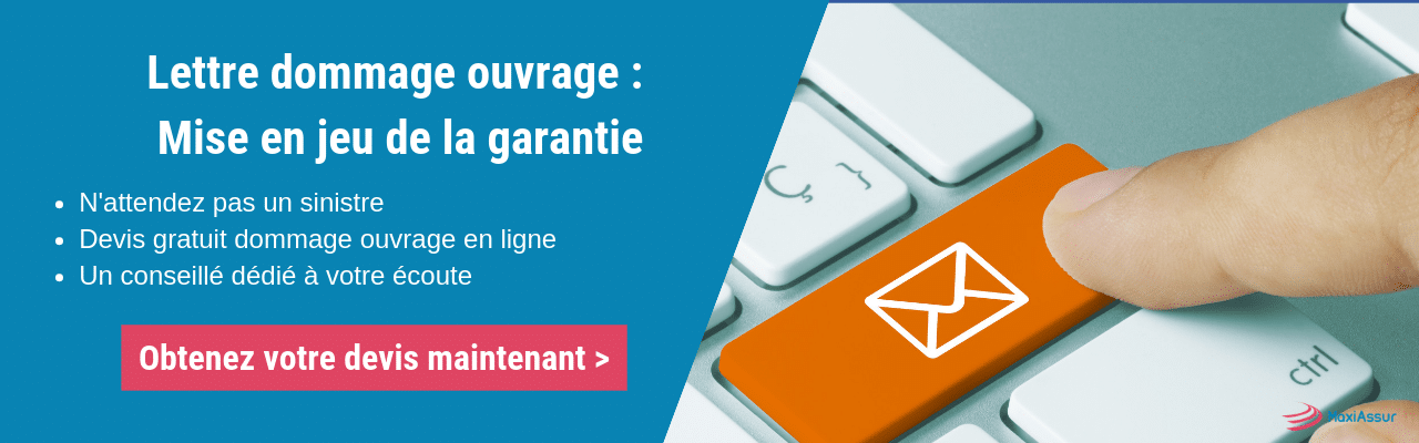 Lettre dommage ouvrage