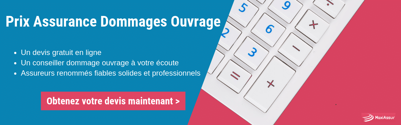 assurance dommages ouvrage prix