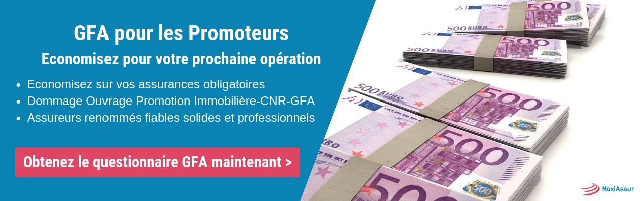 Garantie financière d'achèvement GFA