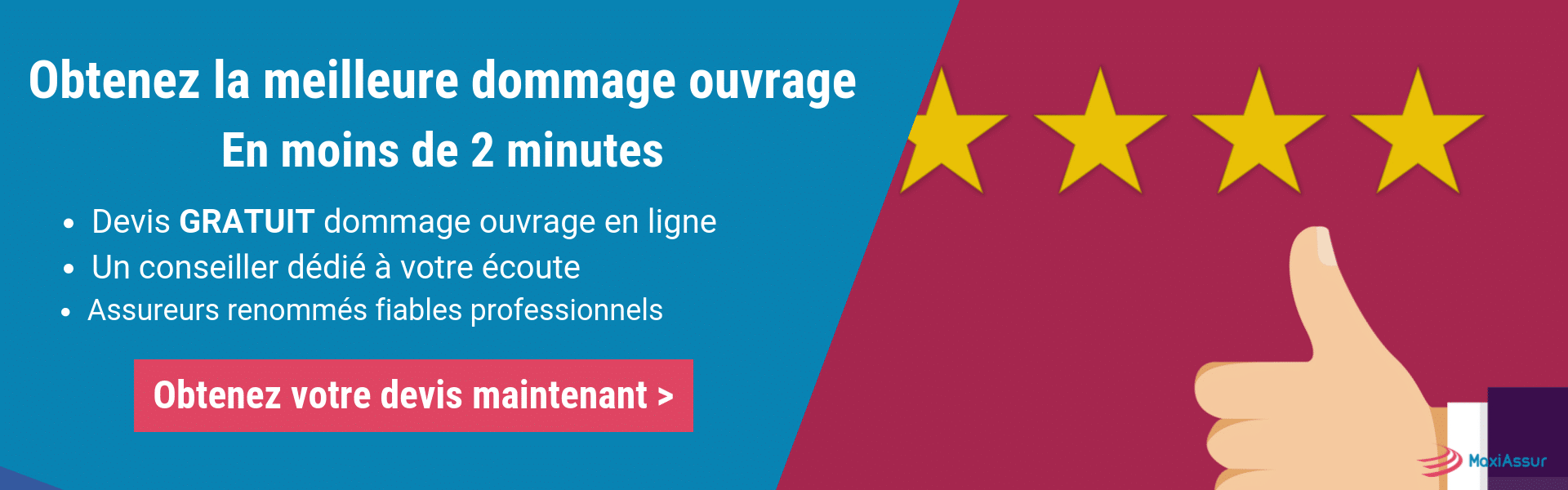 Meilleure assurance dommages ouvrage
