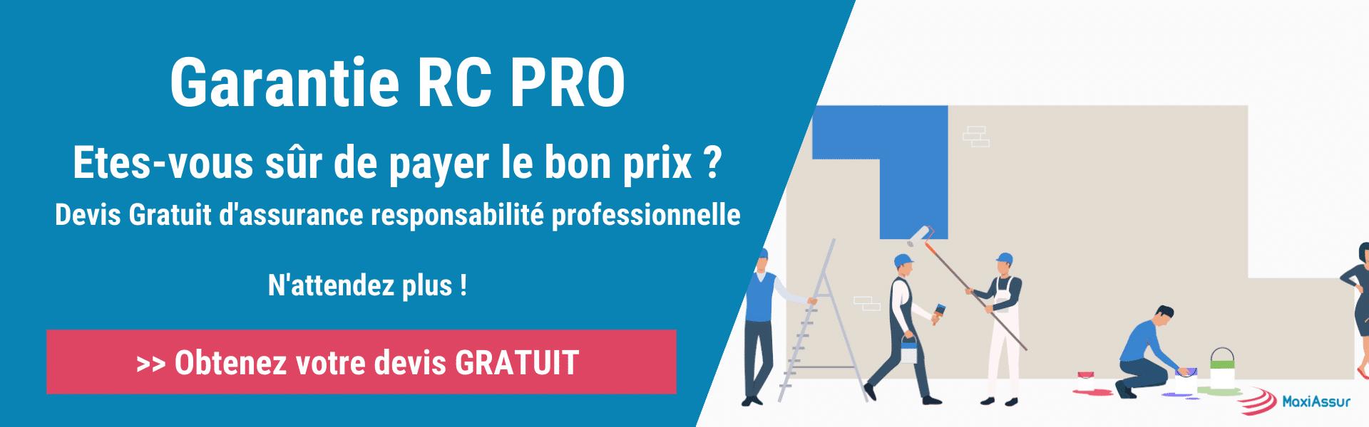 responsabilité civile professionnelle (RC Pro)