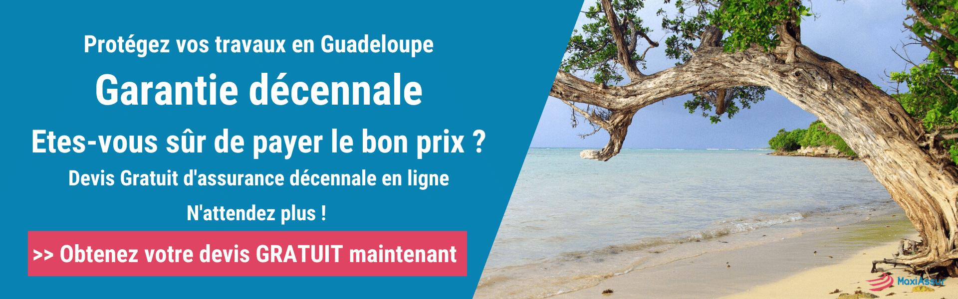 Garantie décennale Guadeloupe