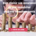 assurance emprunteur pour un investissement locatif