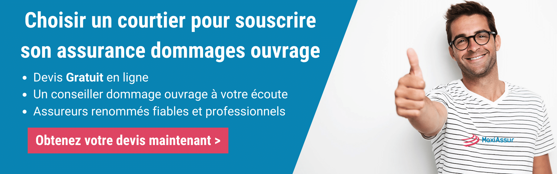 Courtier assurance dommages ouvrage