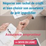 assurance emprunteur rachat de crédit