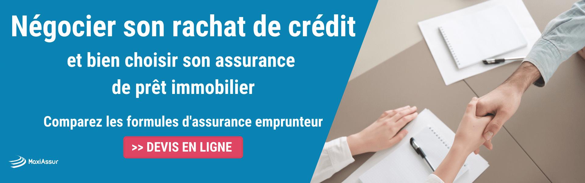 rachat de crédit assurance emprunteur