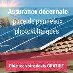 Assurance décennale pose de panneaux photovoltaïques