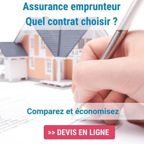 Contrat d'assurance emprunteur collectif ou individuel