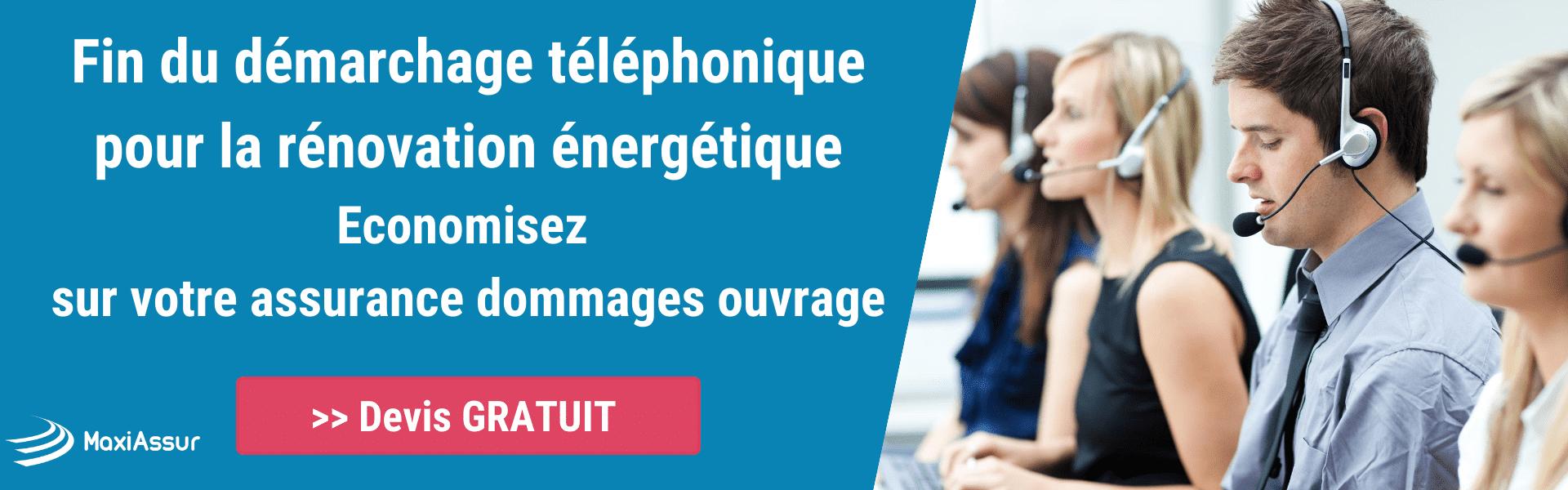 Fin du démarchage téléphonique pour la rénovation énergétique