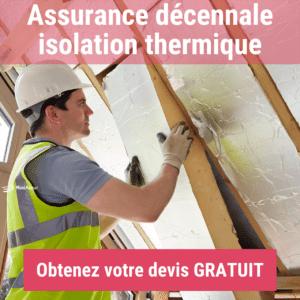 Assurance décennale isolation thermique