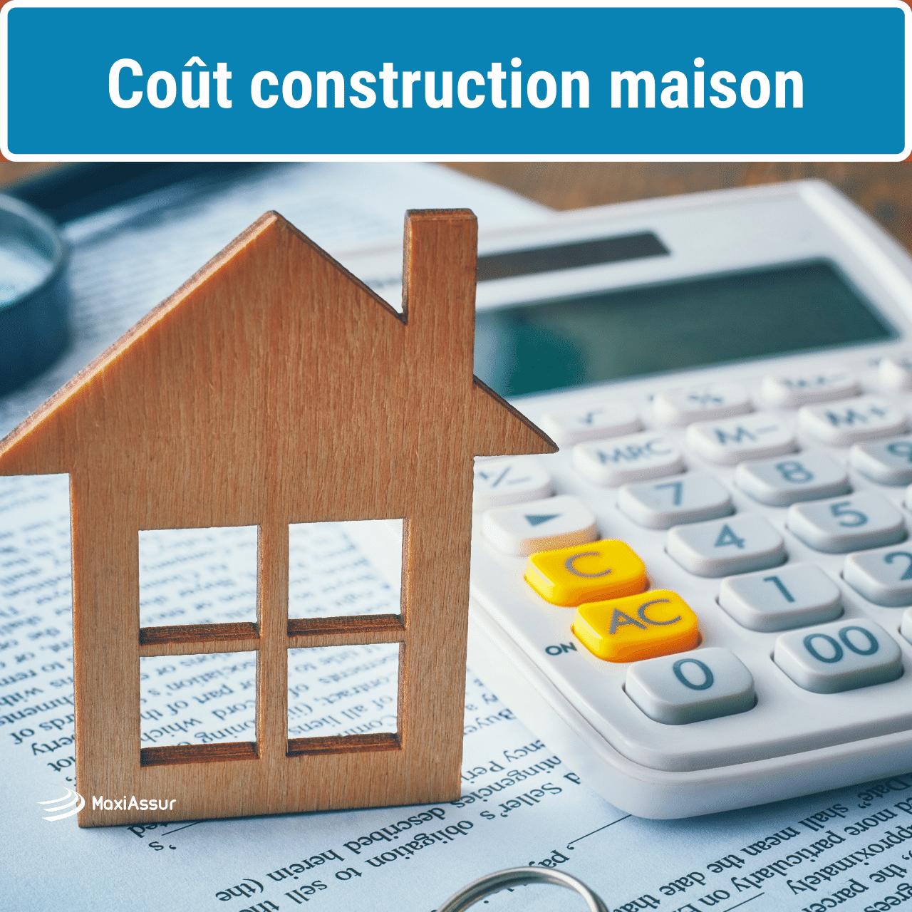 Cout construction maison