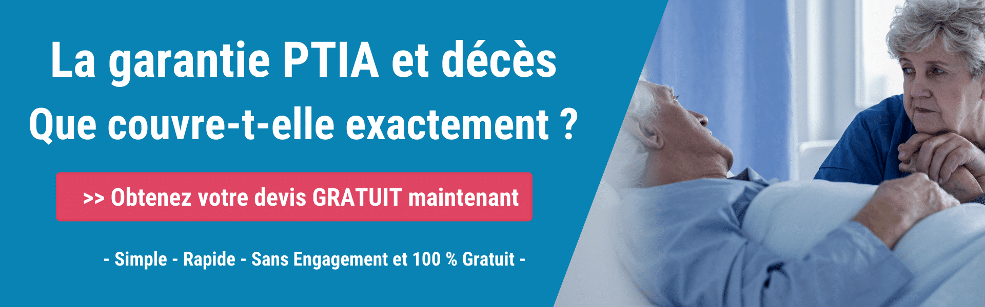 garanties Décès et PTIA en assurance emprunteur