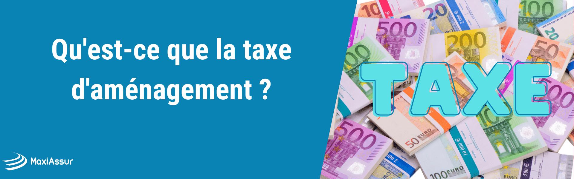 taxe aménagement