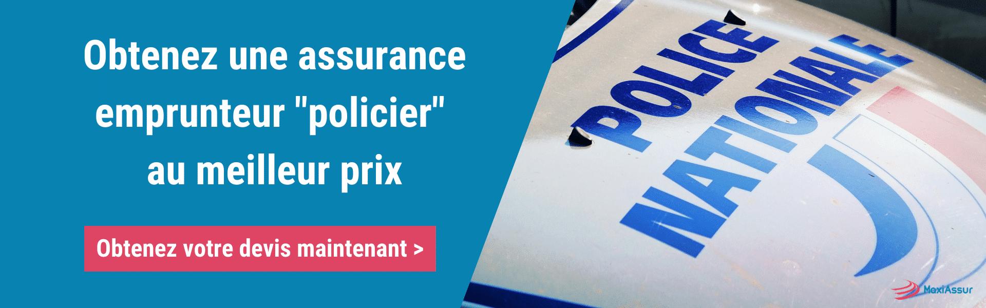 Trouver assurance emprunteur policier