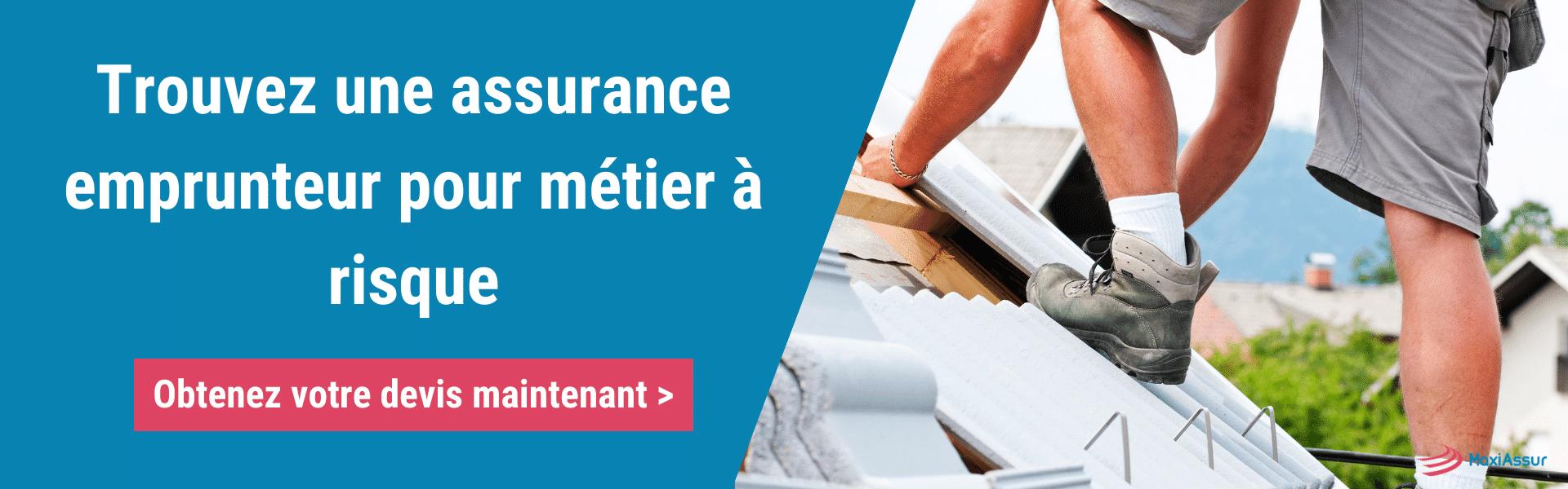 assurance emprunteur métiers à risque
