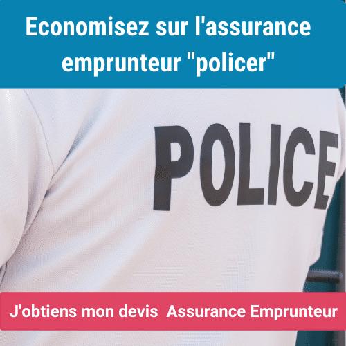 assurance emprunteur policier