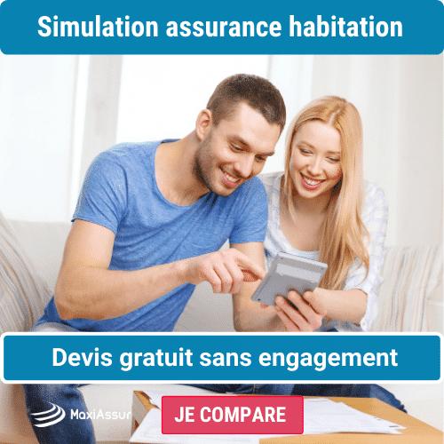 assurance habitation simulation