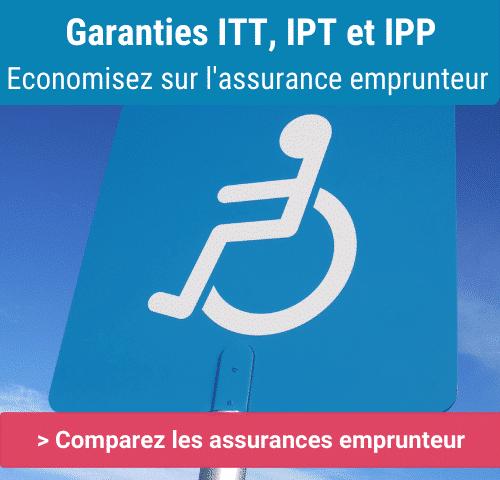 définition garanties ITT IPT et IPP