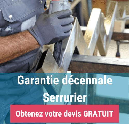 serrurier métallier et garantie décennale