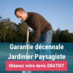 Jardinier paysagiste et garantie décennale