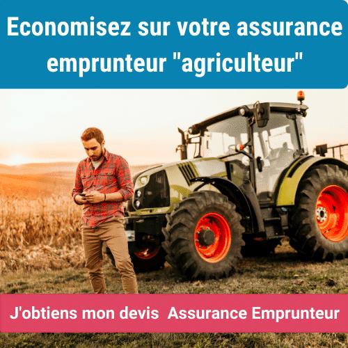 assurance emprunteur agriculteur