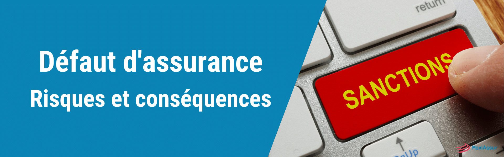 défaut d'assurance
