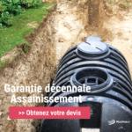 Garantie décennale pour travaux d'assainissement