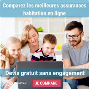 comparez les assurances habitation en ligne
